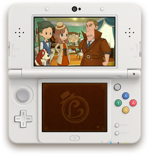 Layton 3DS Screenshot