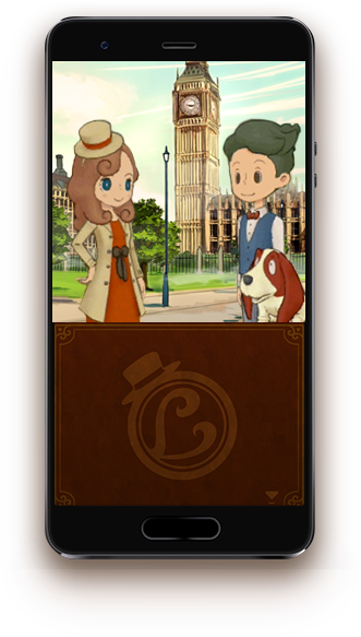 Layton Mobile Screenshot